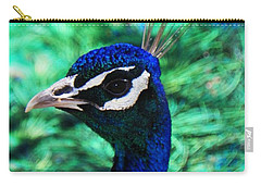 Peacock Carry-all Pouch by Joseph Frank Baraba