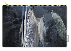 Peacock Lady Carry-all Pouch