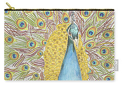 Peacock One Carry-all Pouch