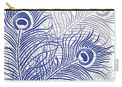 Peacock Parade Carry-all Pouch