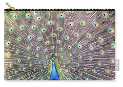 Peacock Splendor Carry-all Pouch