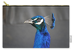 Peacock Stare Down Carry-all Pouch