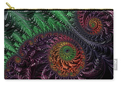 Peacock's Eye Carry-all Pouch