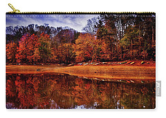 Carry-all Pouch featuring the photograph Peak? Nope, Not Yet by Edward Kreis