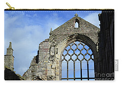 Peak Ruins Of Holyrood Abbey Carry-all Pouch by DejaVu Designs