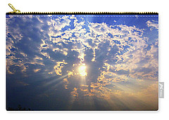 Peaking Behind The Clouds Carry-all Pouch