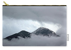 Carry-all Pouch featuring the photograph Peaking Through The Clouds by Shane Bechler