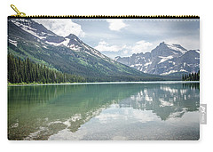 Carry-all Pouch featuring the photograph Peaks At Lake Josephine by Margaret Pitcher