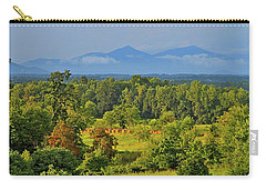 Peaks Of Otter After The Rain Carry-all Pouch by The American Shutterbug Society