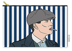 Peaky Blinders Carry-all Pouch by Nicole Wilson