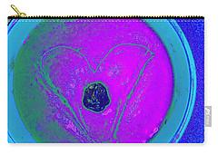 Peanut Butter Date Heart Carry-all Pouch