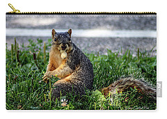 Carry-all Pouch featuring the photograph Peanut by Joann Copeland-Paul