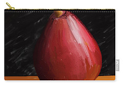 Pear 01 Carry-all Pouch by Wally Hampton