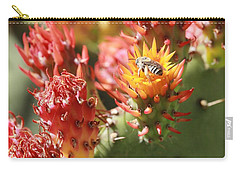 Pear Bee Carry-all Pouch