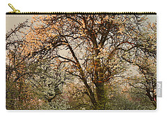 Pear Spring Sunrise Carry-all Pouch by Henryk Gorecki