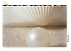 Pearl And Shell Carry-all Pouch