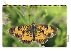 Pearl Crescent Carry-all Pouch