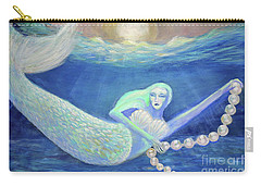 Pearl Of The Sea Carry-all Pouch by Lyric Lucas