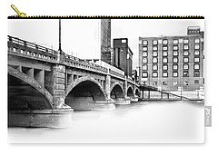 Pearl Street Bridge High Key Carry-all Pouch by Evie Carrier