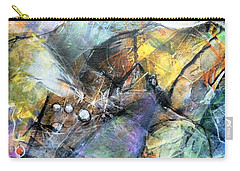 Carry-all Pouch featuring the painting Pearls Of Wisdom by Jim Whalen