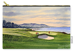 Pebble Beach Golf Course 9th Green Carry-all Pouch
