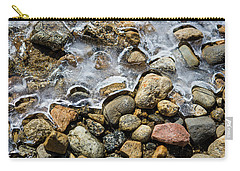Pebbles And Ice Carry-all Pouch