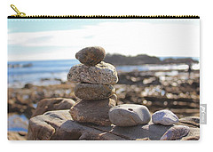 Peceful Zen Rocks Carry-all Pouch