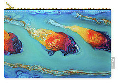 Peces Dorados Carry-all Pouch by Angel Ortiz
