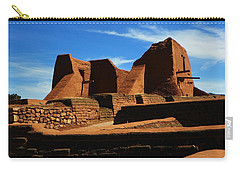 Pecos New Mexico Carry-all Pouch by Joseph Frank Baraba