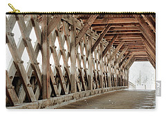 Pedestrian Bridge Guelph Ontario Carry-all Pouch