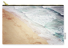 Carry-all Pouch featuring the photograph Pedn Vounder by Lyn Randle