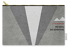 Carry-all Pouch featuring the digital art Pee-wee's Big Adventure by Ayse Deniz