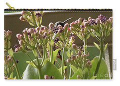 Carry-all Pouch featuring the photograph Peek A Boo by Anne Rodkin