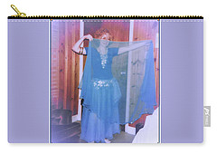 Carry-all Pouch featuring the photograph Peek-a-boo Dancer by Denise Fulmer