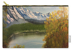 Peek-a-boo Mountain Carry-all Pouch by Thomas Janos
