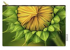Peek-a-boo Sunflower Carry-all Pouch
