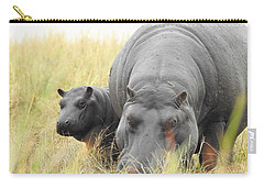 Carry-all Pouch featuring the photograph Peek by Betty-Anne McDonald