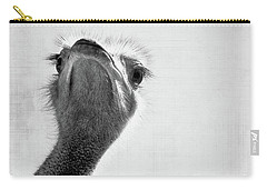 Peekaboo Ostrich Carry-all Pouch