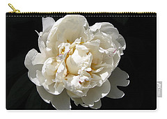 Peekaboo Peony Carry-all Pouch