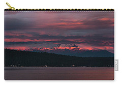 Carry-all Pouch featuring the photograph Peekaboo Sunrise by Jan Davies