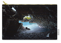 Peeking Through The Lava Tube Carry-all Pouch