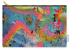 Peeling Paint Graffiti Carry-all Pouch by Todd Breitling