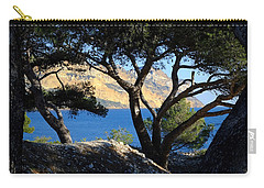 Peeping Through Pines Carry-all Pouch