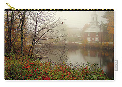Foggy Glimpse Carry-all Pouch by Betsy Zimmerli
