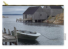 Carry-all Pouch featuring the photograph Peggys Cove Canada by Richard Bryce and Family