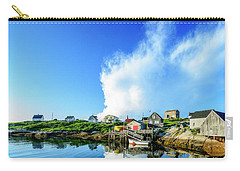 Peggys Cove Carry-all Pouch by Ken Morris
