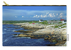 Carry-all Pouch featuring the photograph Peggy's Cove by Rodney Campbell