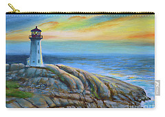 Peggy's Cove Sunset Carry-all Pouch