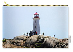 Peggys Light House Relfection  Carry-all Pouch