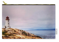 Peggys Point Lighthouse Carry-all Pouch